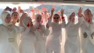 Türbanlıların bekarlığa veda partisi Dilipak'ı kızdırdırdı