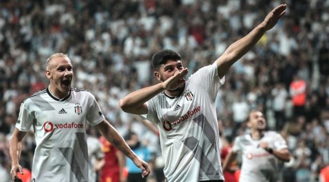 Beşiktaş evinde 3 golle kazandı