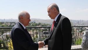 Erdoğan-Bahçeli görüşmesi basına yansıdığı gibi yarım saat değildi