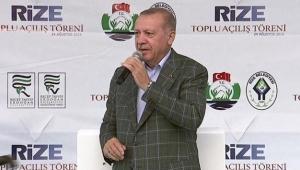 Erdoğan: İstanbul'u su bastı beyefendi tatilde