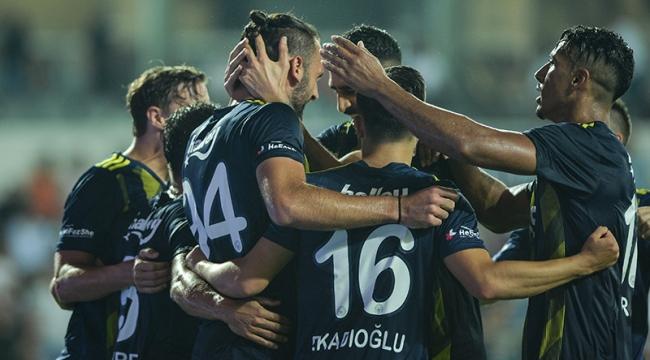 Fenerbahçe, uzatmalarda Medipol Başakşehir'i mağlup etti 2-1