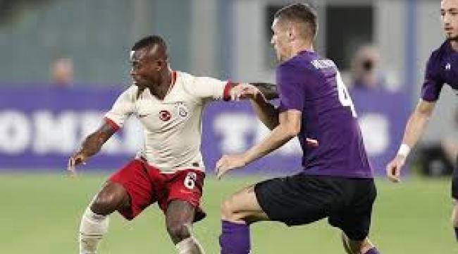 Galatasaray, Fiorentina'ya farklı mağlup oldu