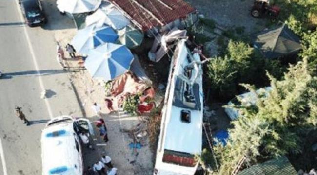 Havaist kazası: Ölü ve yaralılar var