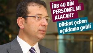 İBB 40 bin personel mi alacak? Sözcü Murat Ongun'dan açıklama geldi