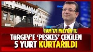 İmamoğlu'ndan TÜRGEV'e büyük darbe: 5 yurdunu geri aldı