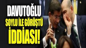Süleyman Soylu, Ahmet Davutoğlu ile görüştü mü?