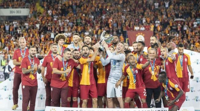 TFF Süper Kupa 6. kez Galatasaray'ın