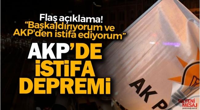 AK Parti'de istifalar sürüyor