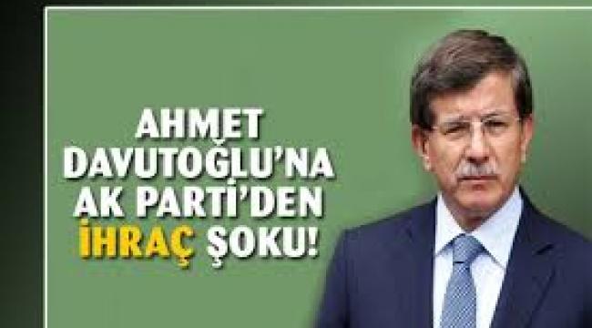 AKP'den flaş Davutoğlu kararı