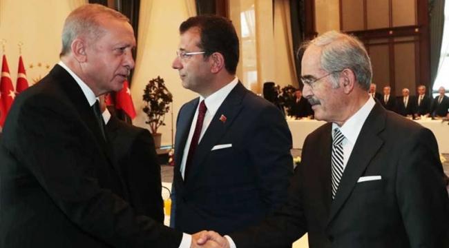 Erdoğan büyükşehir belediye başkanlarıyla bir araya geldi