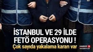 İstanbul ve 29 ilde FETÖ operasyonu! 74 muvazzaf asker için yakalama kararı