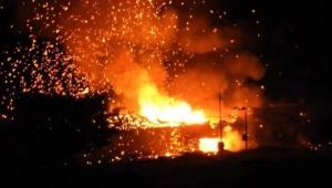 KKTC'de askeri bölgede peş peşe patlamalar: Can kaybı yaşanmadı