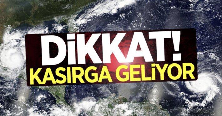 Meteoroloji'den İstanbul için fırtına uyarısı: Çatılar uçabilir, direkler devrilebilir!