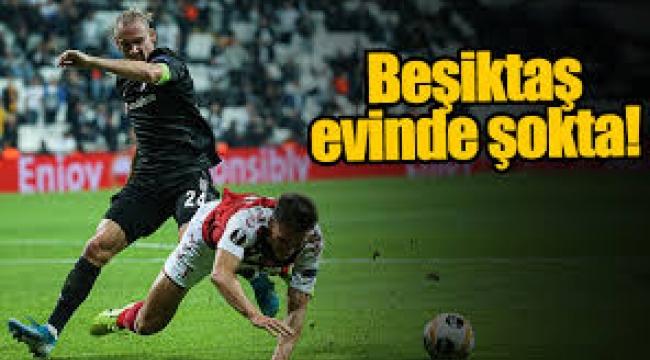 Beşiktaş Braga'ya teslim oldu