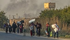 BM: Türkiye'nin operasyonunun başlangıcından bu yana 100 binden fazla insan evlerini terk etti