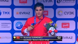 Busenaz Sürmeneli dünya şampiyonu