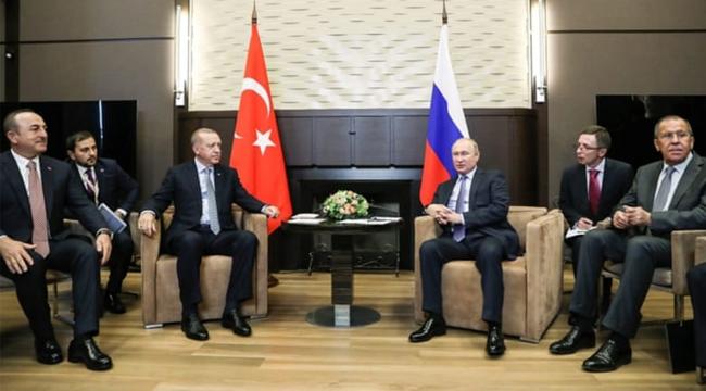 Erdoğan-Putin görüşmesinde mutabakat: 150 saat sonra Türk-Rus devriyesi başlayacak