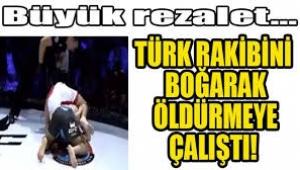Ermeni dövüşçü Türk rakibini öldürmek istedi
