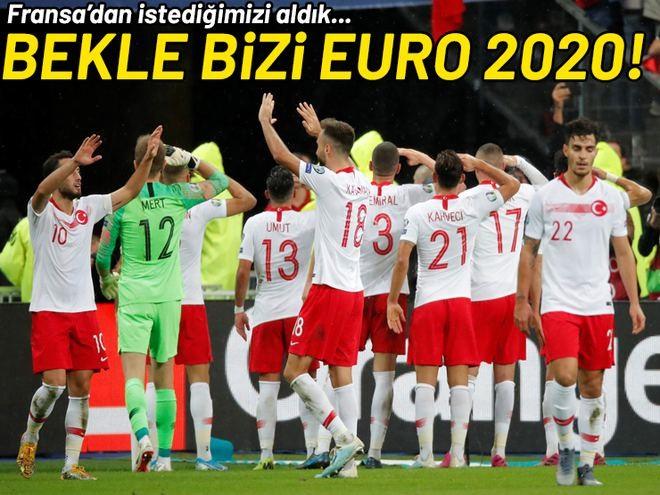 Fransa 1-1 Türkiye Bekle bizi Euro 2020