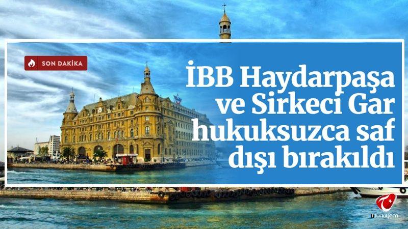 İstanbul Büyükşehir Belediyesi, Haydarpaşa ve Sirkeci Gar ihalelerinden elendi