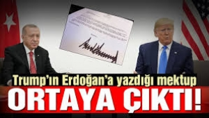 Reuters: Trump'ın 9 Ekim'de Erdoğan'a yazdığı mektup ortaya çıktı