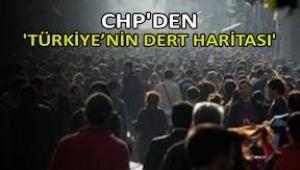 'Türkiye'nin Dert Haritası' raporu: Büyük kentlerin ortak sorunu işsizlik