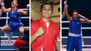 Üç milli kadın boksör dünya şampiyonluğu için ringe çıkacak
