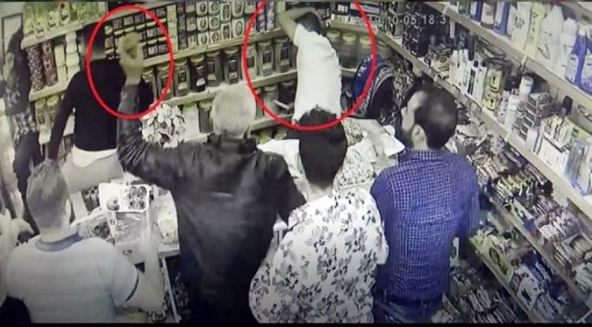 Veresiye vermeyen marketçiyi dövdüler