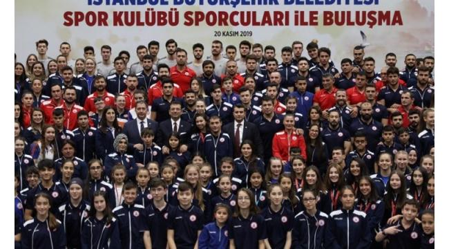 Ekrem İmamoğlu toplumsal spor ne ki...