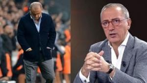 Galatasaraylı futbolculara şerefsiz deyip Fatih Terim'i bombaladı