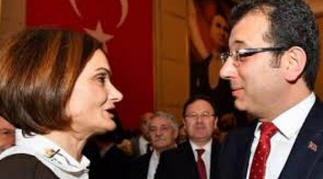İmamoğlu'ndan Canan Kaftancıoğlu'na: