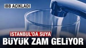 İSKİ; yıl başından itibaren suya yüzde 20 zam yapılacak!