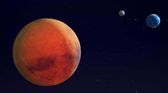 Mars'ta uzaylılara ait heykel bulundu!