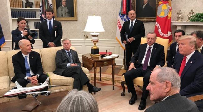 Senatör Graham: Bu toplantının amacı Türk arkadaşlarımız ile bir Amerikan yurttaşlık dersi yapmaktı