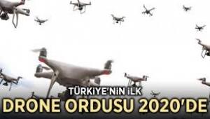 Sürü drone'ların görüntüleri ilk kez yayınlandı!