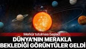 Merkür, Güneş ile Dünya'nın arasından geçti
