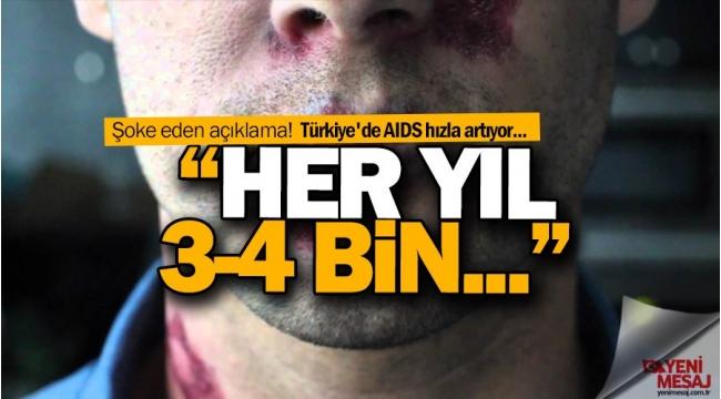 Türkiye'de AIDS riski artıyor