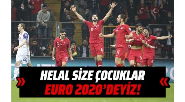 Türkiye İzlanda 0-0 ve Bekle bizi İngiltere