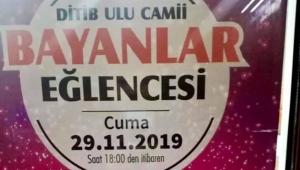 Ulu Cami'deki kadınlar matinesi kızdırdı