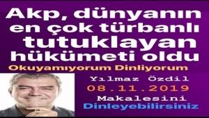 Yılmaz Özdil: AKP, dünyanın en çok türbanlı tutuklayan hükûmeti oldu