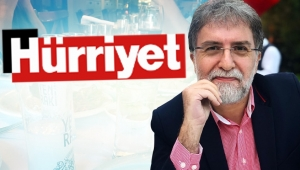 Ahmet Hakan'dan bir ilk! Hürriyet ekibini meyhaneye götürdü!