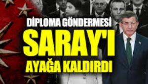 Erdoğan'a diploma göndermesi Saray'ı bile ayağı kaldırdı
