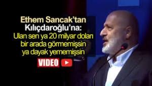 Ethem Sancak'tan Kılıçdaroğlu'na olay sözler: Sen dayak yememişsin!