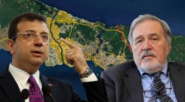 İlber Ortaylı'dan Ekrem İmamoğlu'na 'Kanal İstanbul' dersi!