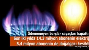 Milyonlarca vatandaş elektrik faturasını ödeyemedi