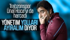 Trabzonspor Ünal Karaman ile yolları ayırma kararı aldı.