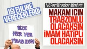 Ya imam hatipli ya da Trabzonlu olacaksın