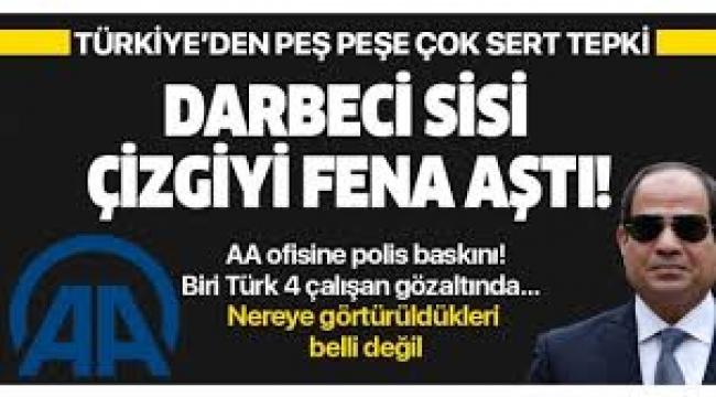 Anadolu Ajansı ofisine baskın