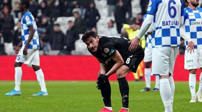 Beşiktaş, BB Erzurumspor'a 3-2 yenilerek, kupaya veda etti