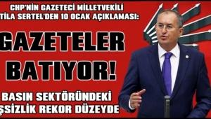 CHP raporu: Çalışamayan gazeteciler!